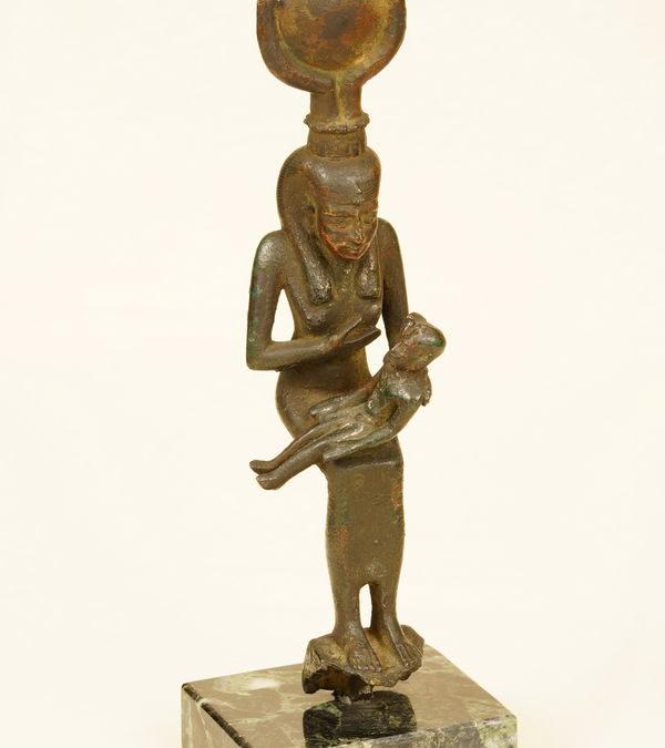 Isis allaitant son fils Horus, Egypte, Basse-Epoque
