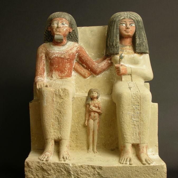 Renout, petite fille égyptienne, XVI° – XIII°s avant J-C