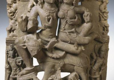 Siva et Parvati sur le taureau Nandi
