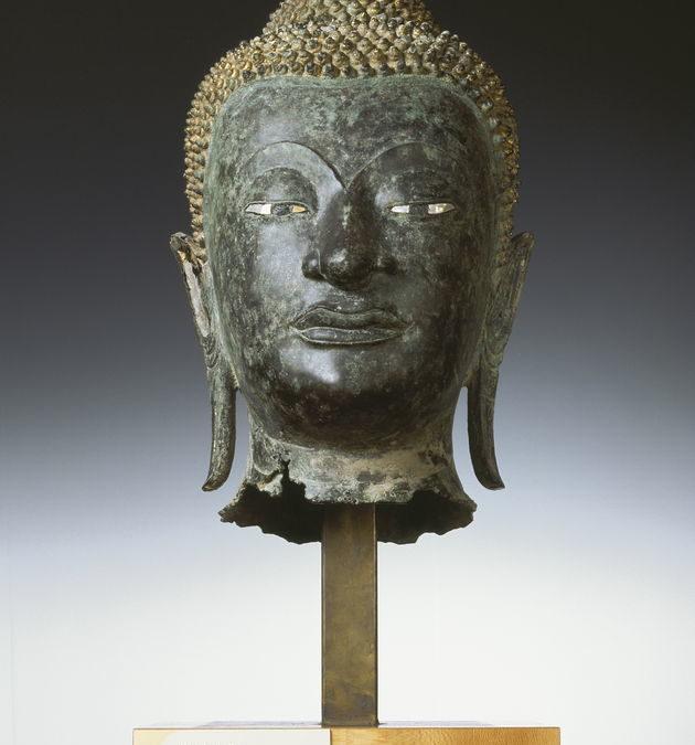 Tête du Buddha