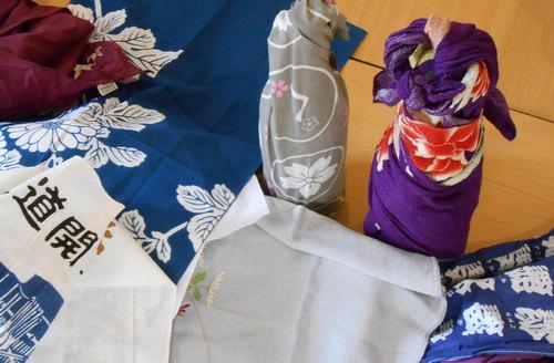 Les arts du Japon : Furoshiki et tenugui