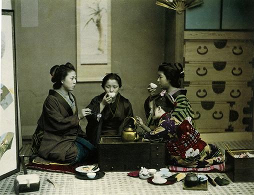 Cérémonie du thé d'automne
