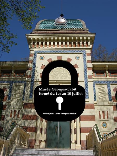 Musée fermé du 1er au 10 juillet
