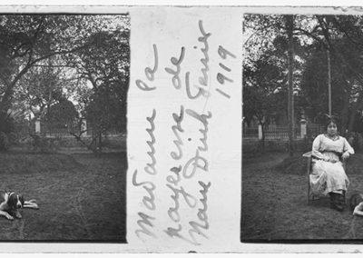 Madame la payeresse de Nam Dinh, février 1919