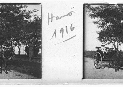 Hanoï [Enfant dans une calèche], 1916