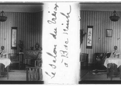 Le salon du trésor à Bac Nimh, s.d.