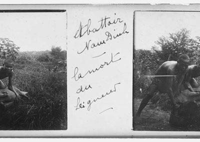Abattoir Nam Dinh, la mort du seigneur, s.d.