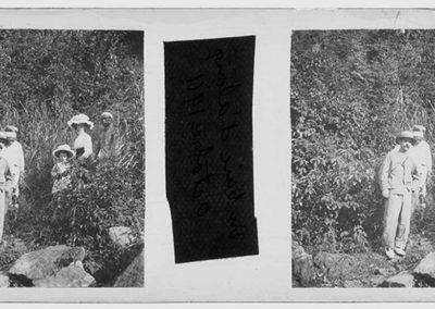 En baie de Ha Long, octobre 1911