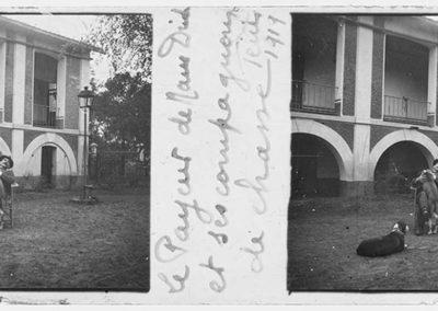 Le payeur de Nam Dinh et ses compagnons de chasse, juin 1919