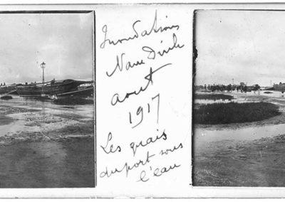 Inondations de Nam Dinh, août 1917