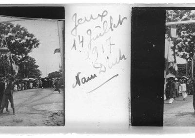 Jeux à Nan Dinh, 14 juillet 1917