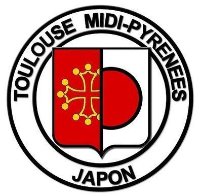 Logo Toulouse Midi-Pyrénées Japon
