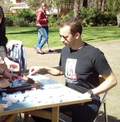 Le club associatif BLUE FROG est affilié à la Fédération Française de Mahjong