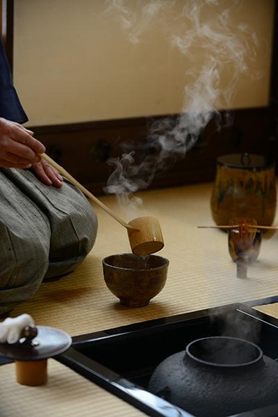 Cérémonie du thé : démonstration