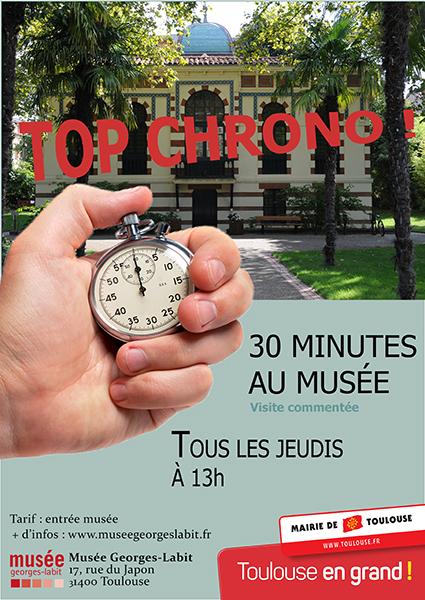 Top chrono ! 30 minutes au musée !