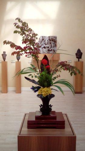 Journées Européennes du Patrimoine : exposition d'Ikebana