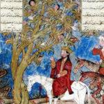 Alexandre Le Grand conversant avec l'arbre Waq-waq
