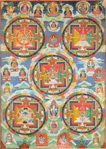 Création d'un mandala