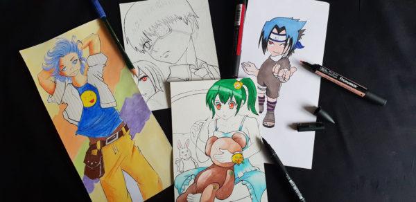 Initiation au manga