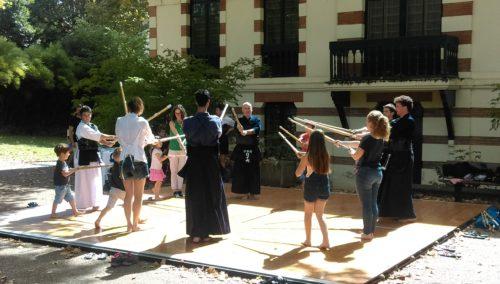 Démonstrations de kendo