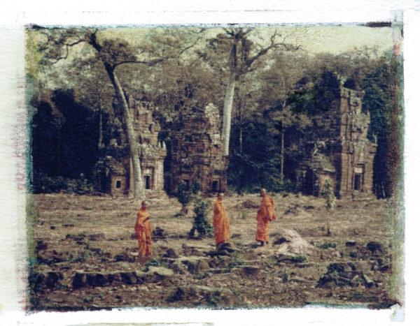 """Expo. : """"Angkor révélée. Photographies de Jacques Sierpinski"""""""