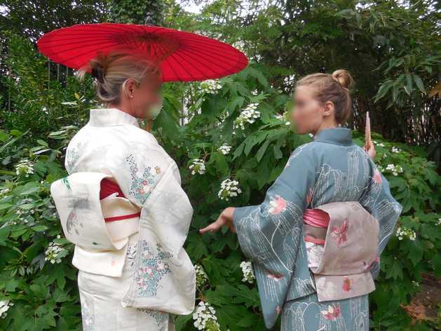 Kitsuke ou l'art de porter un kimono