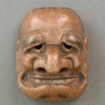 Buaku masque japonais XVIIIe-XIXe siècle