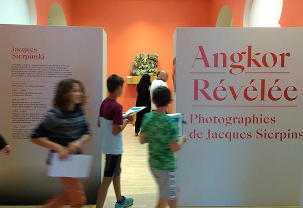 Visite de l'exposition : Angkor révélée