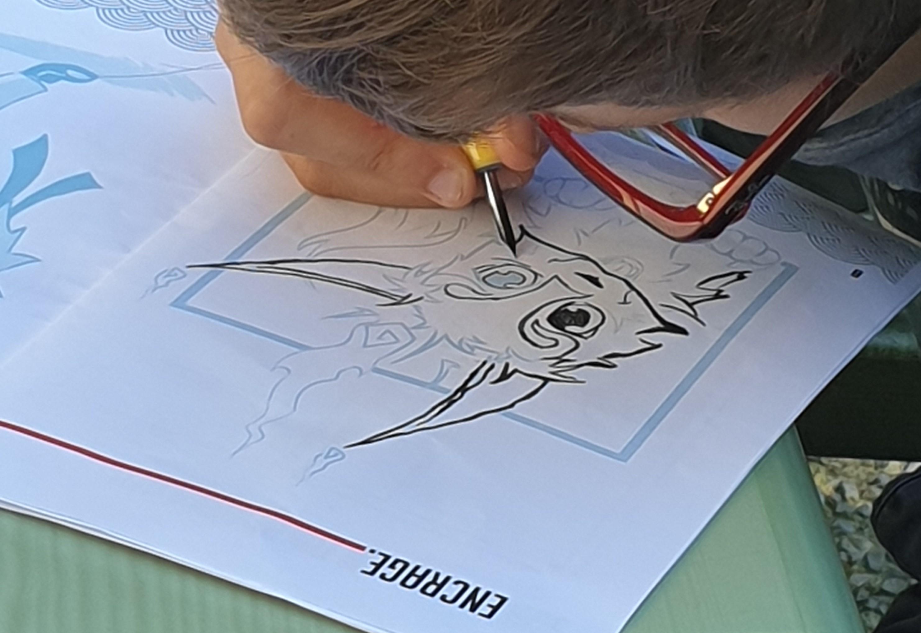 Atelier manga : créer un chibi et initiation à l'encrage