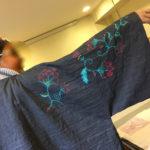 Confection d'un kimono
