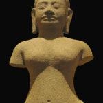 Bouddha Khmer Fond Noir
