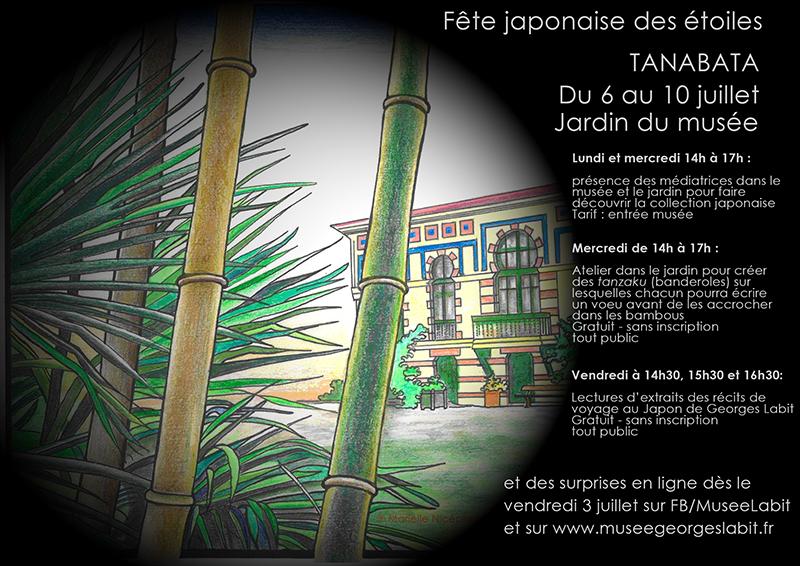 Affiche programme Tanabata