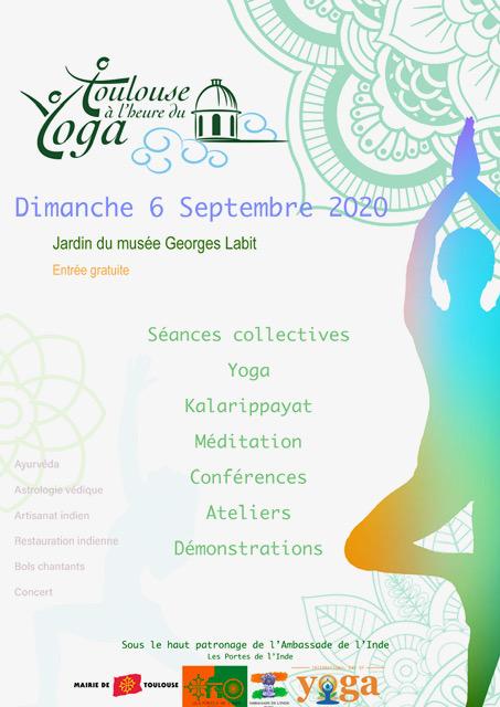 Toulouse à l'heure du yoga