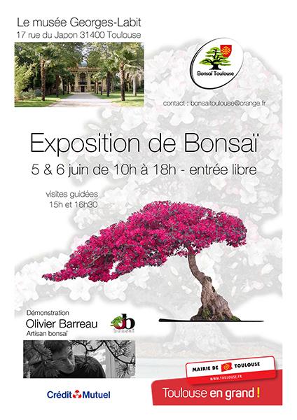 Exposition de bonsaï