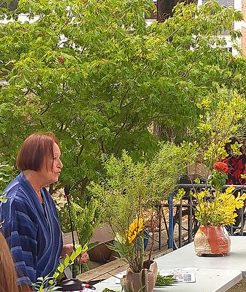 Journées europénnes du Patrimoine : démonstrations d'Ikebana