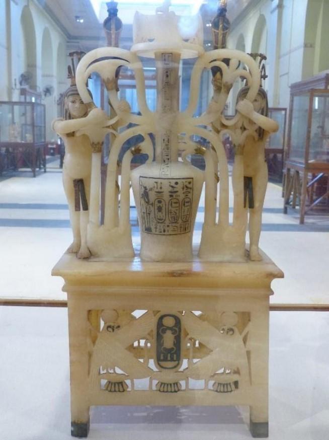 Quelques objets choisis de la tombe de Toutânkhamon